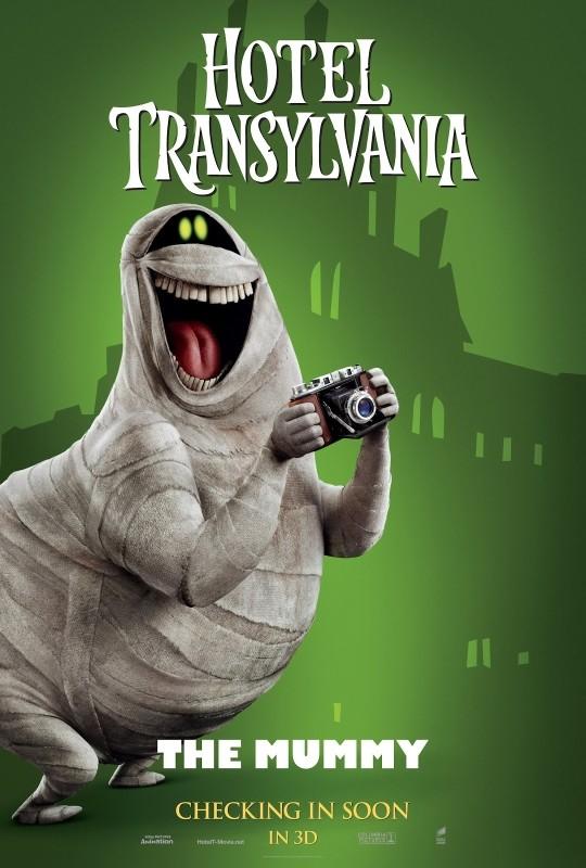 Hotel Transylvania: il character poster de La Mummia
