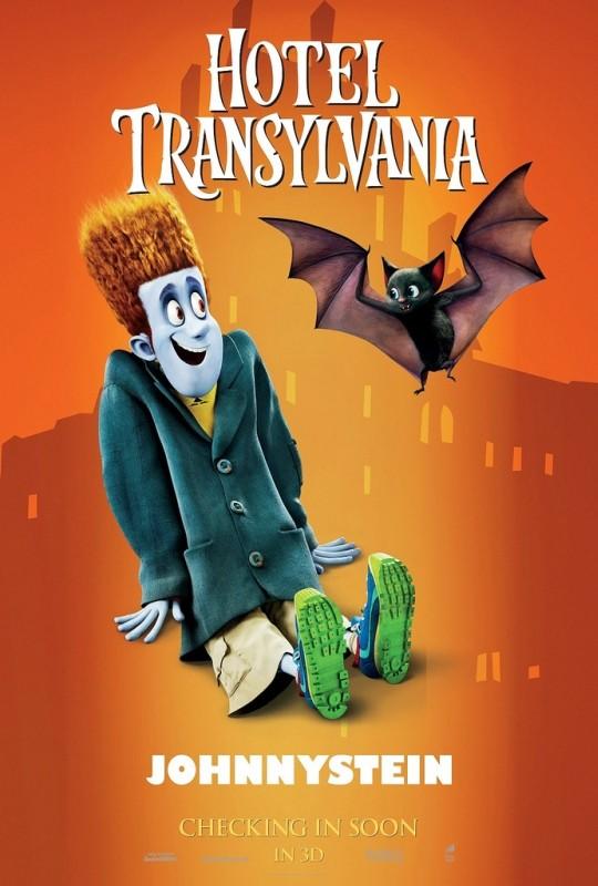 Hotel Transylvania: il character poster di Johnnystein