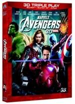La copertina di The Avengers 3D (blu-ray)