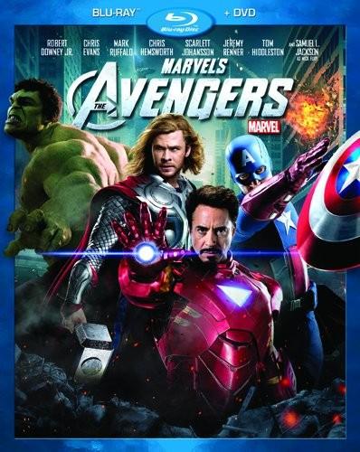 La copertina di The Avengers (blu-ray)
