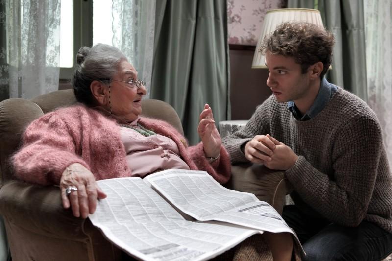 Come non detto: Josafat Vagni e Lucia Guzzardi in una scena del film