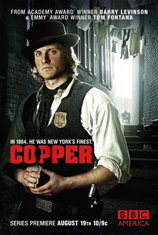 Copper: uno dei poster della serie