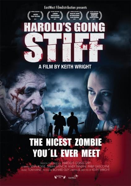 Harold's Going Stiff: la locandina del film