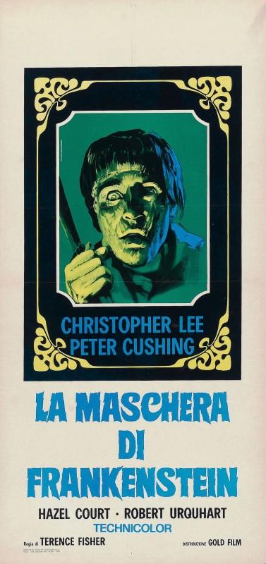 Locandina del film La maschera di Frankenstein
