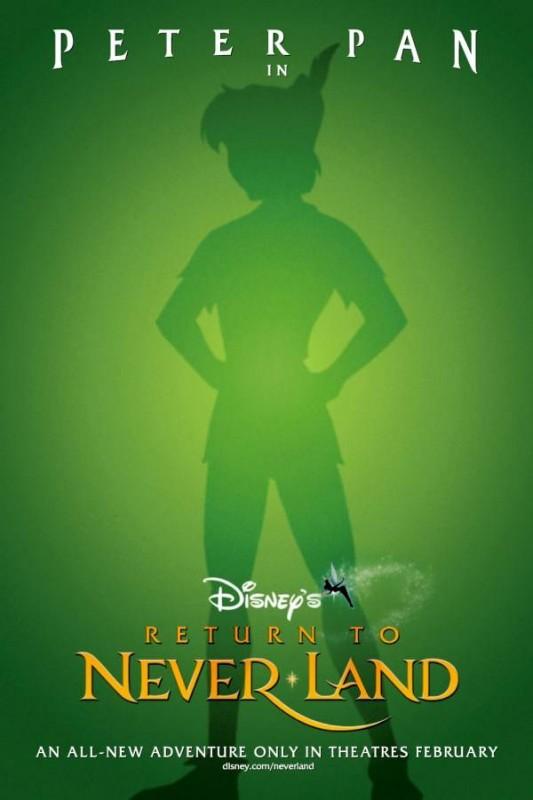 Peter Pan - Ritorno all'Isola che non c'è: la locandina del film
