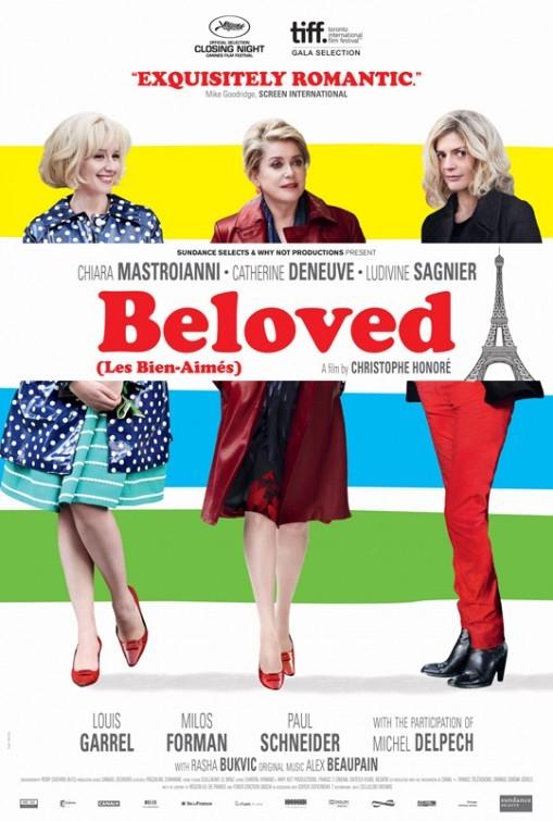 Beloved (Les bien-aimés): poster USA