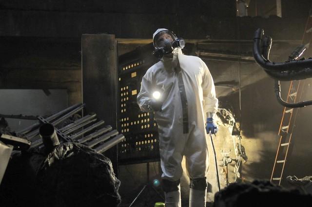 Breaking Bad: Dean Norris in una scena dell'episodio Live Free or Die