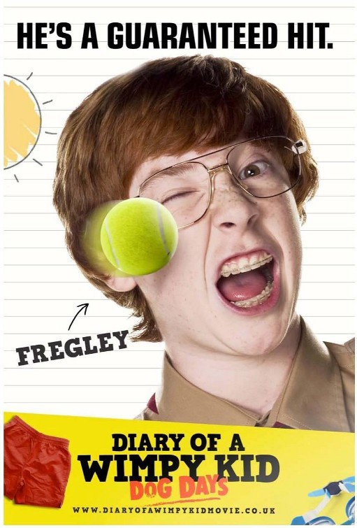 Diary of a Wimpy Kid: Dog Days: Character Poster per Fregley (Grayson Russell)