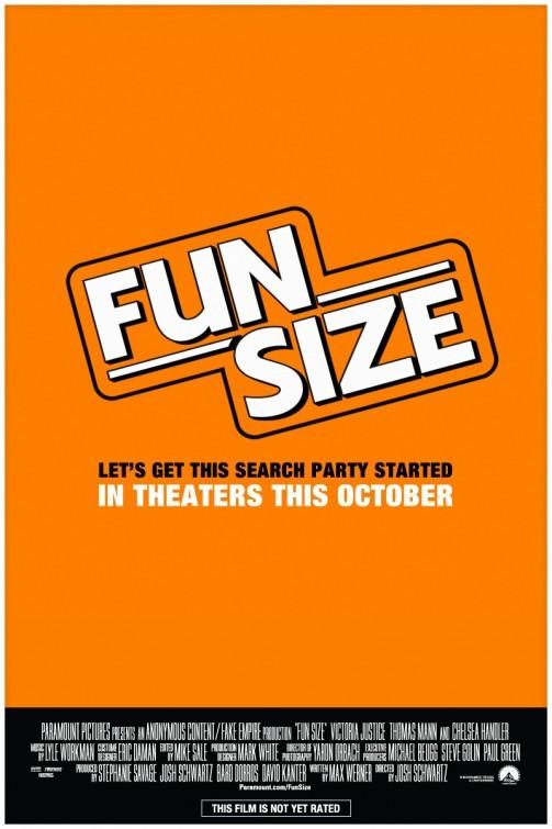 Fun Size: la locandina del film