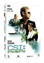 La copertina di CSI: Miami - Stagione 6 - Parte 2 (dvd)