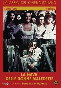 La copertina di La nave delle donne maledette (dvd)