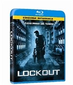 La copertina di Lockout (blu-ray)