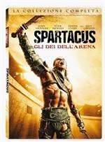 La copertina di Spartacus: gli dei dell'arena (dvd)