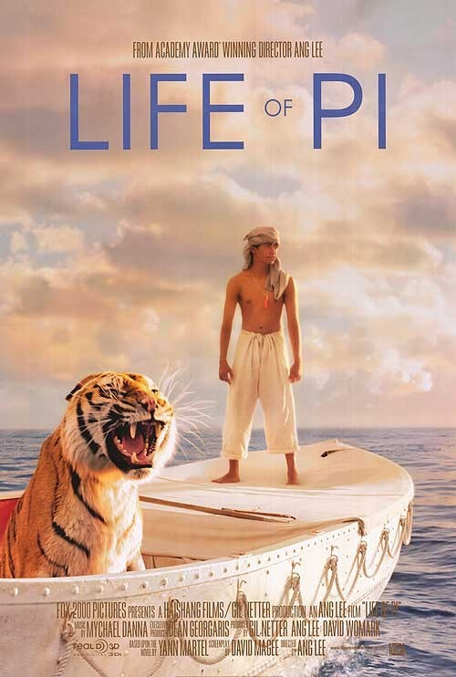 Life of Pi: poster del film