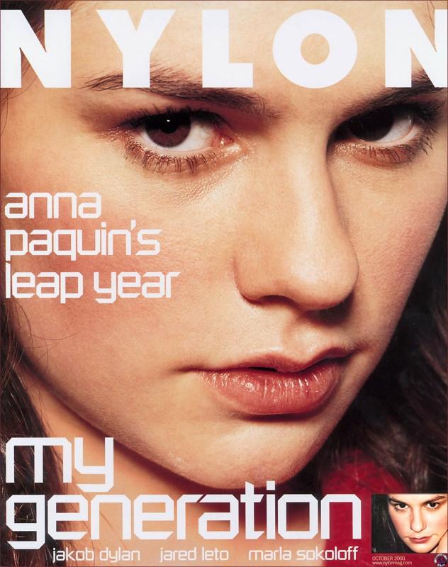 Anna Paquin sulla cover di Nylon