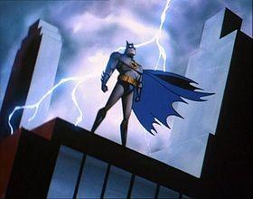 Batman: il protagonista in un'immagine della serie