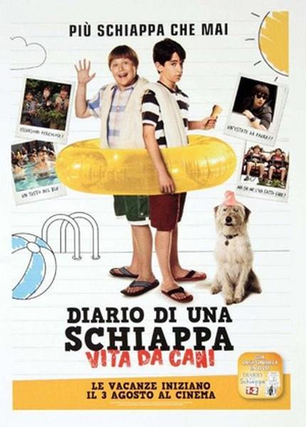 Diario di una schiappa: Vita da cani, la locandina italiana