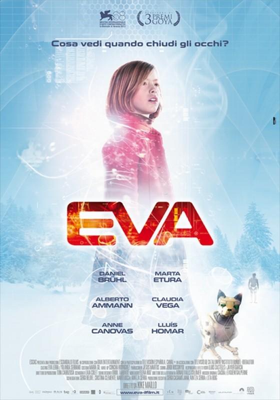 Eva: la locandina italiana del film