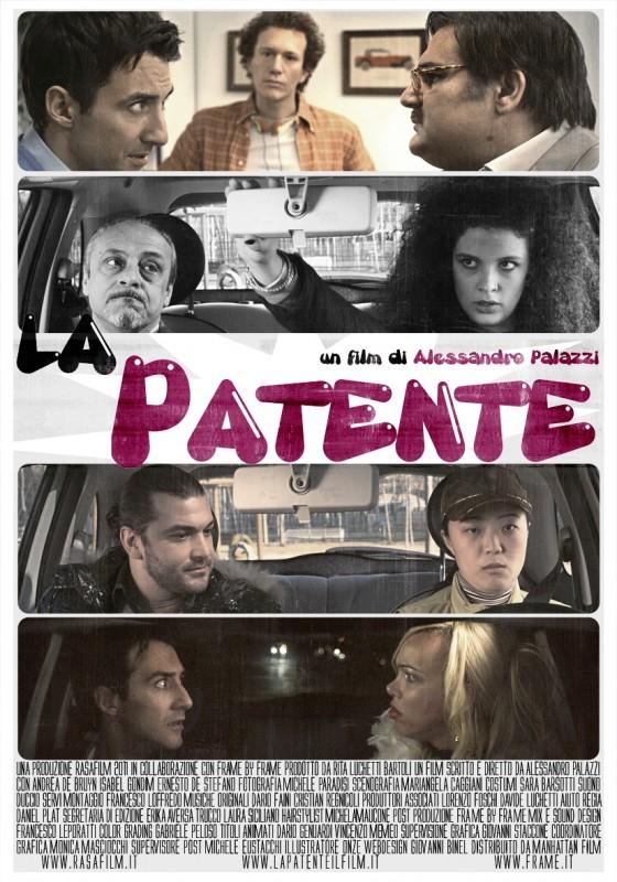 La patente: la locandina del film