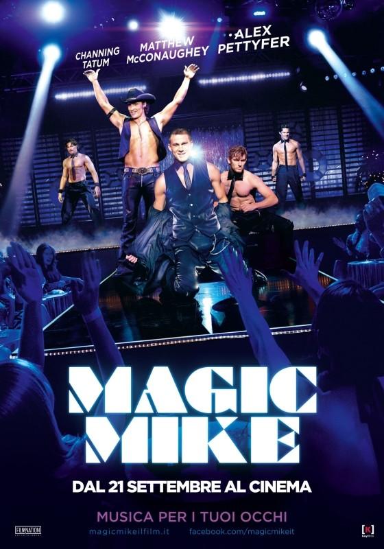 Magic Mike: la locandina italiana del film