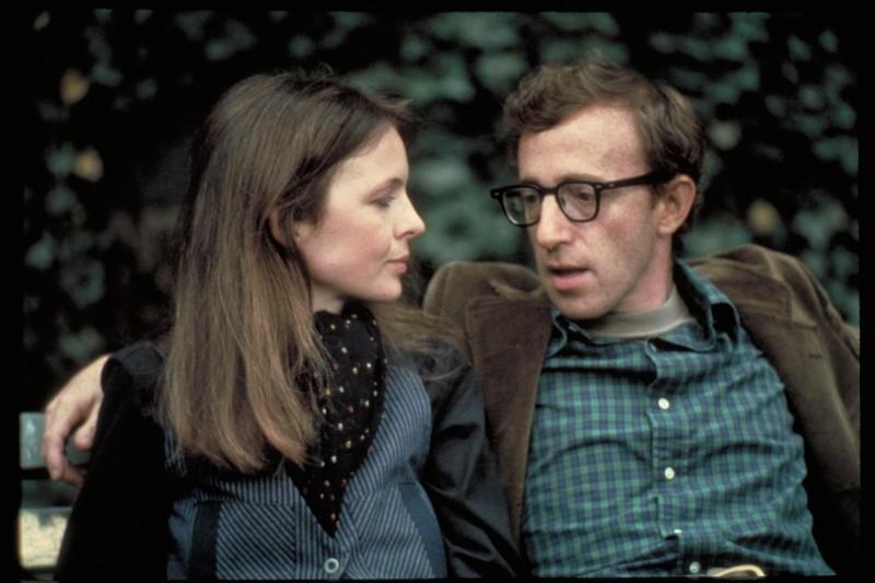 Woody: Woody Allen e Diane Keaton in una scena di Io e Annie tratta dal documentario