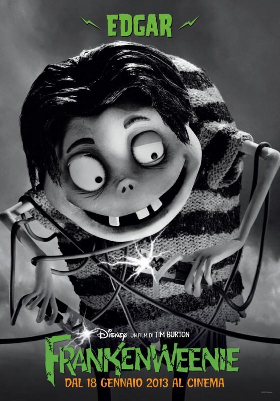 Frankenweenie: il character banner italiano di Edgar