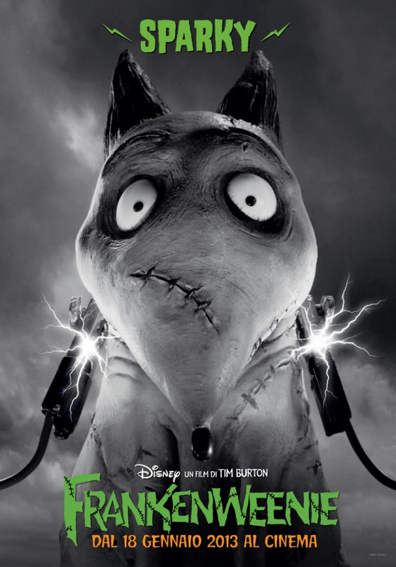 Frankenweenie: il character banner italiano di Sparky