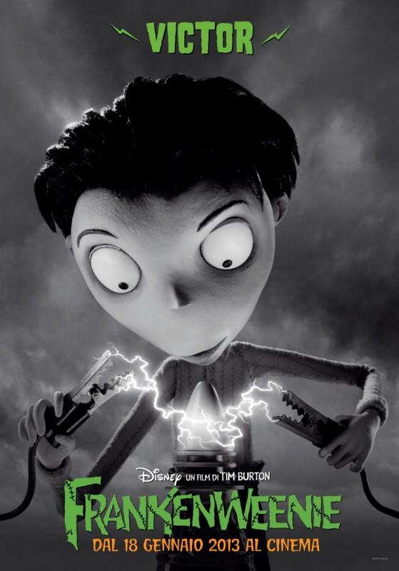 Frankenweenie: il character banner italiano di Victor