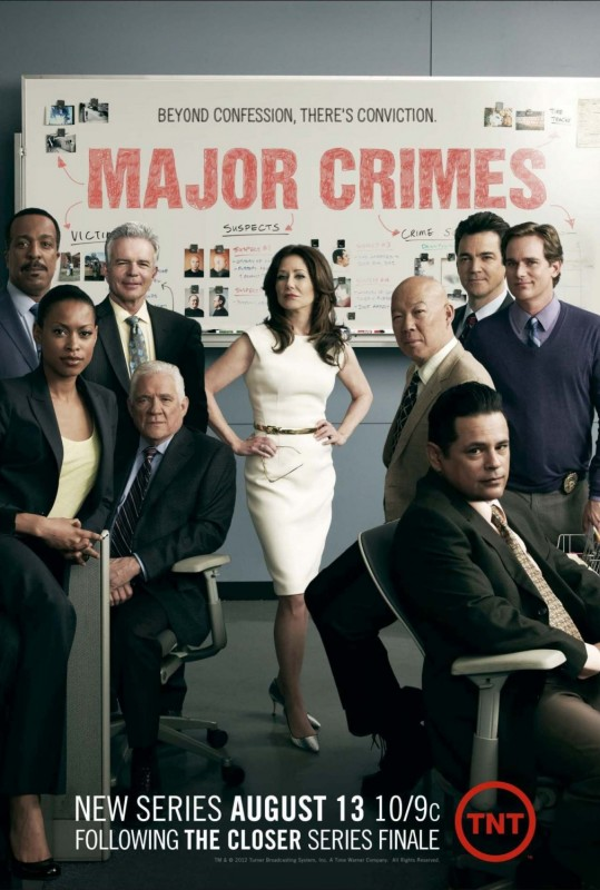 La locandina di Major Crimes