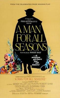 Locandina originale di Un uomo per tutte le stagioni