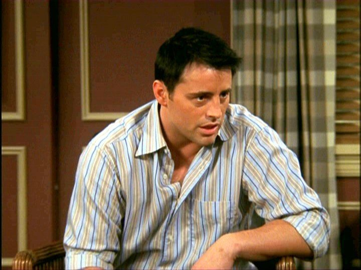 Matt LeBlanc è Joey Tribbiani in Friends