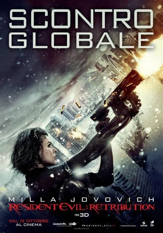 Resident Evil: Retribution, il nuovo poster italiano del film