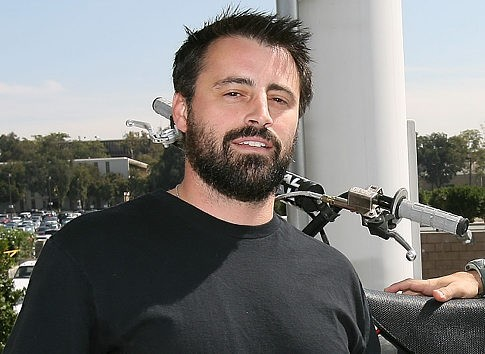 Una foto dell'attore Matt LeBlanc