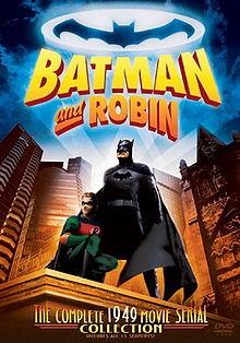 Batman and Robin: la locandina del film