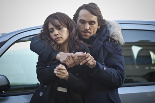 Bella addormentata: Maya Sansa e Pier Giorgio Bellocchio in una concitata scena
