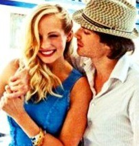 Ian Somerhalder e Candice Accola
