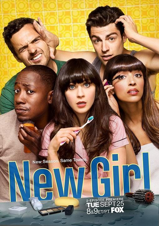 New Girl: un poster per la seconda stagione della serie Fox