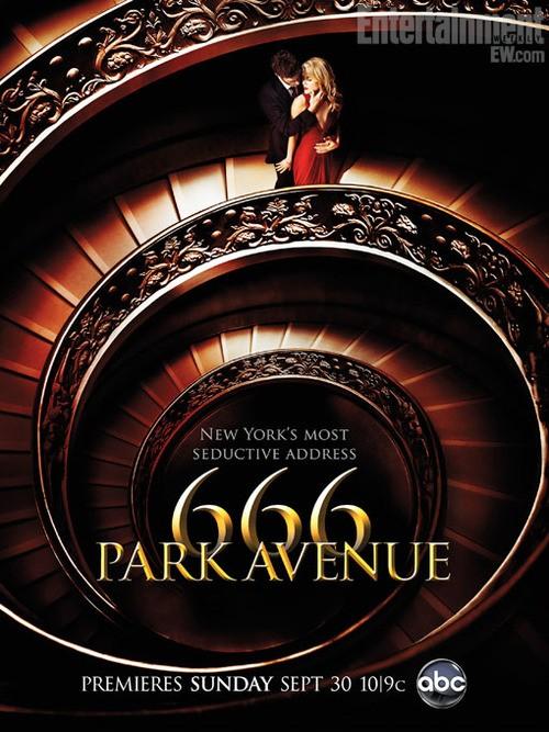 666 Park Avenue: uno dei poster della serie ABC.