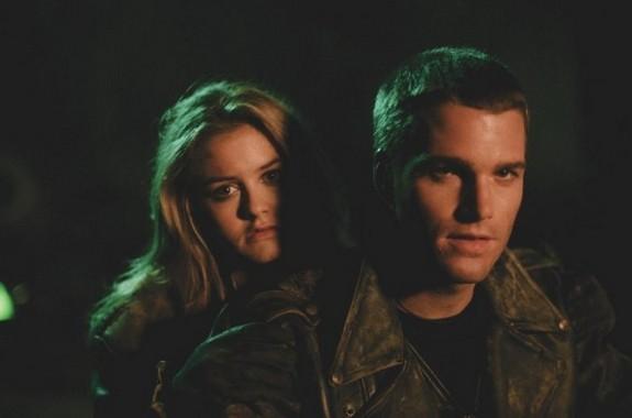 Batman & Robin: Alicia Silverstone e Chris O'Donnell in una scena del film