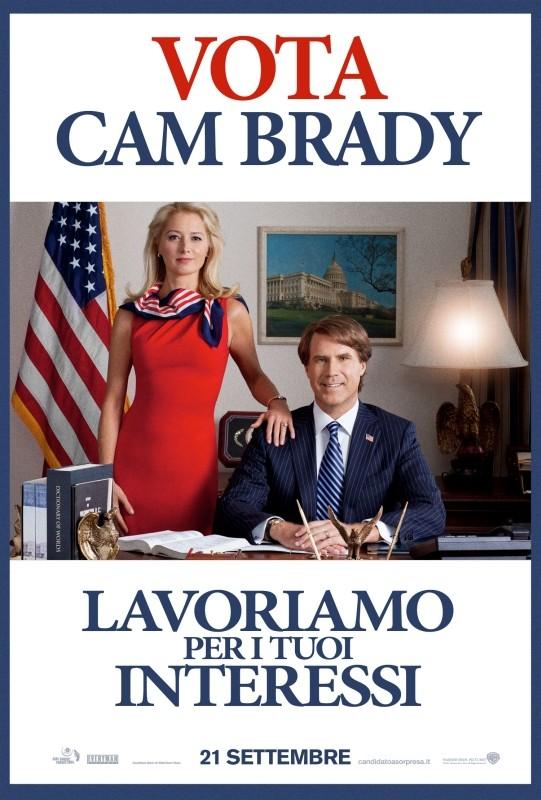 Candidato a sorpresa: il character poster italiano pro-Brady