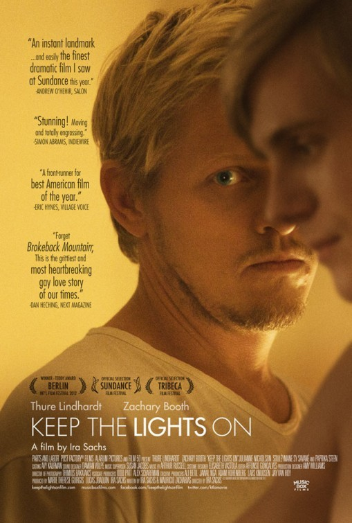 Keep the Lights On: la locandina del film