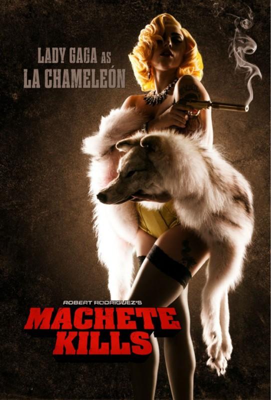 Machete Kills: ecco il charachter poster di Lady Gaga