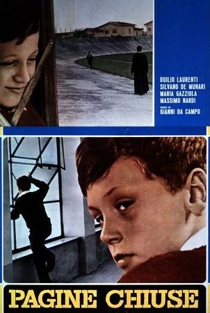 Pagine chiuse: la locandina del film