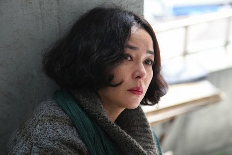 Pietà: la donna misteriosa del film Jo Min-Su in una scena del film