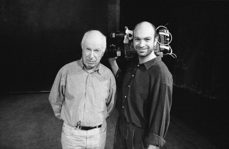 Simon Brook e Peter Brook in una foto promozionale