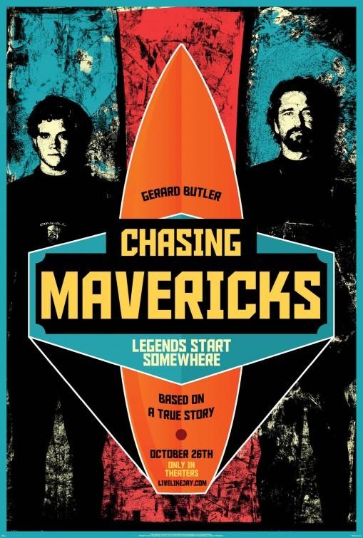 Chasing Mavericks: la locandina del film