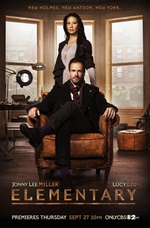 Elementary: un primo poster della nuova serie