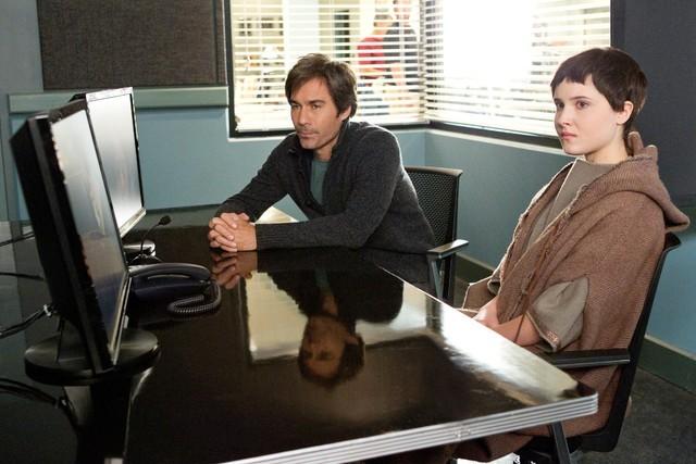 Perception: Eric McCormack in una scena dell'episodio The Messenger