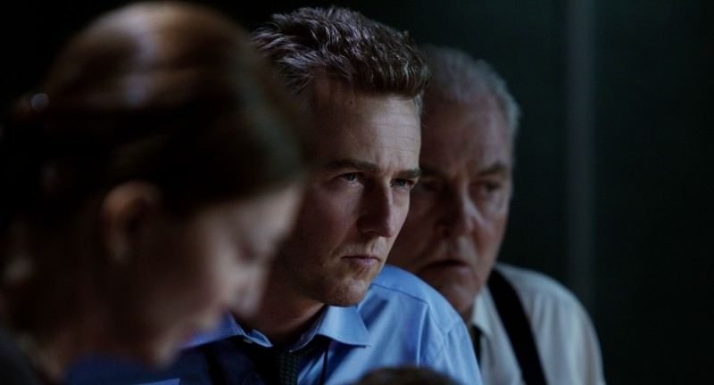The Bourne Legacy: Edward Norton in un primo piano tratto dal film