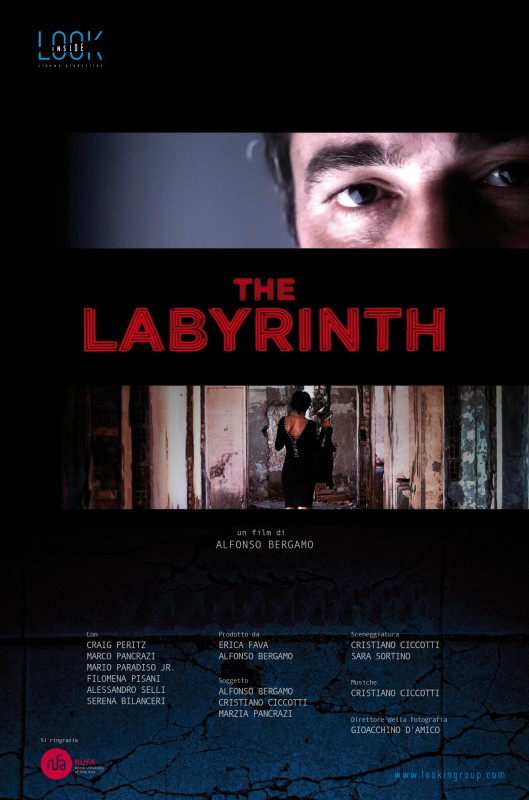The labyrinth - Dvd cover